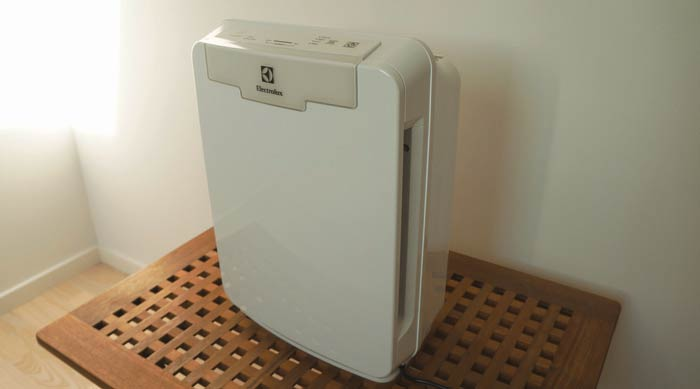 Electrolux Pure Oxygen Allergy 150 on display.