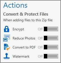 Winzip extra features