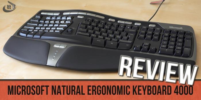 Ergonomic Keyboard 4000 Review of the Microsoft Veteran