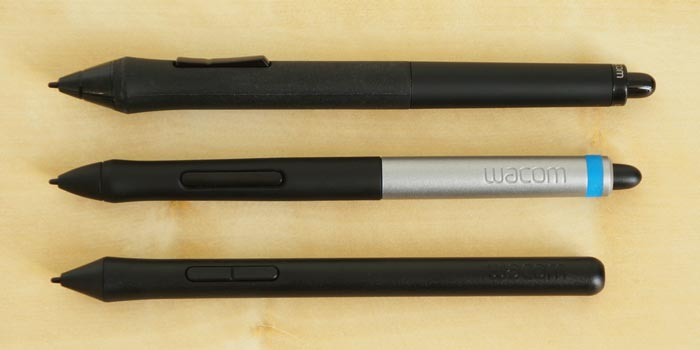 Wacom pen comparison